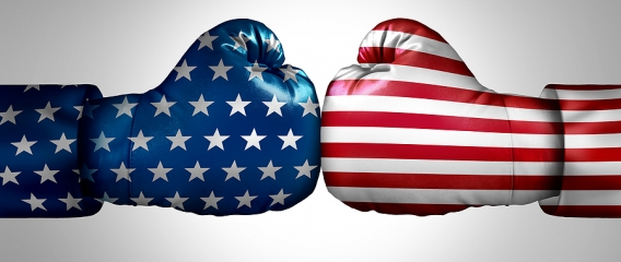 Red Vs Blue How Political Differences May Be Increasing Divorce Rates